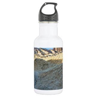 Riverbed view of Zabriskie Point Landscape Format 532 Ml Water Bottle