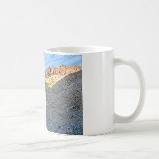 Riverbed view of Zabriskie Point Landscape Format Mugs