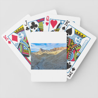Riverbed view of Zabriskie Point Landscape Format Bicycle Poker Cards