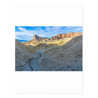 Riverbed view of Zabriskie Point Landscape Format Post Cards