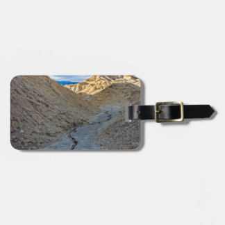 Riverbed view of Zabriskie Point Tag For Bags