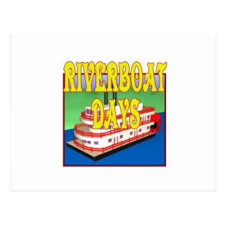Riverboat Days Postcard
