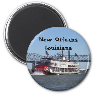 Riverboat in New Orleans Fridge Magnets