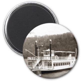 Riverboat Fridge Magnet