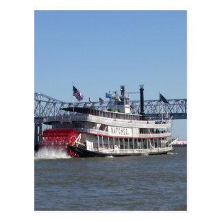 Riverboat Post Card