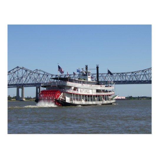 Riverboat Postcard