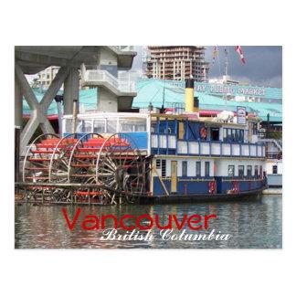 Riverboat Vancouver postcard2 Postcard