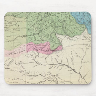 Rivers and Agriculture of Venezuela Mouse Mat