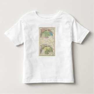 Rivers and Agriculture of Venezuela Toddler T-Shirt