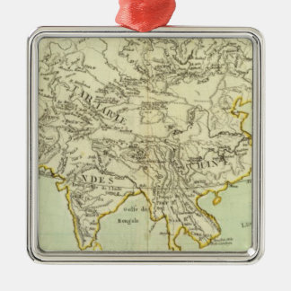 Rivers and Mountains of Asia Christmas Ornament