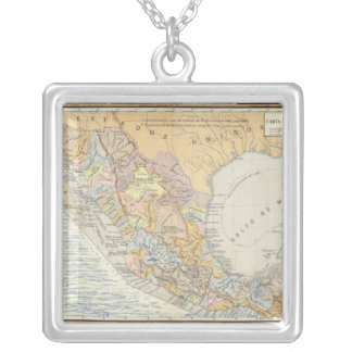 Rivers in Mexico Silver Plated Necklace