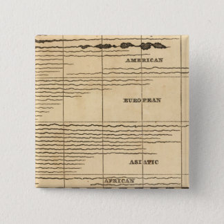 Rivers, mountains 15 cm square badge