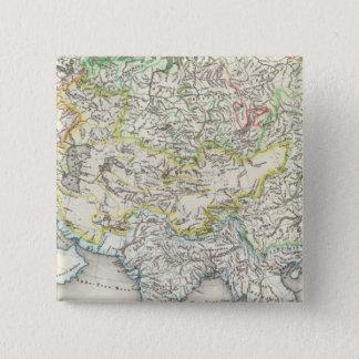 Rivers of Asia 15 Cm Square Badge