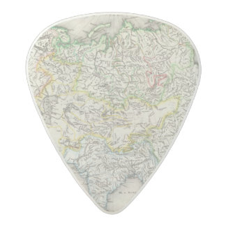 Rivers of Asia Acetal Guitar Pick