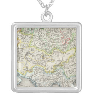 Rivers of Asia Silver Plated Necklace