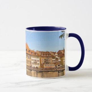 Riverside buildings, Lucerne Mug
