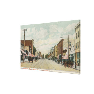 Riverside, CA Main Street View Looking North Canvas Print