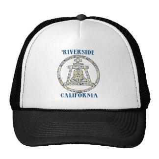 Riverside, California Raincross Cap
