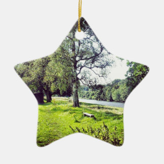 Riverside Christmas Ornament