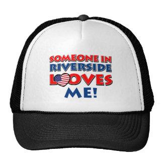 Riverside design cap