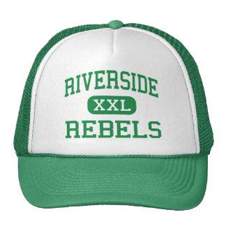 Riverside - Rebels - High - Dearborn Heights Trucker Hat