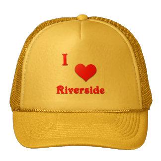 Riverside -- Red Mesh Hat