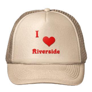 Riverside -- Red Trucker Hat