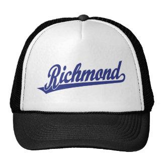 Riverside script logo in blue cap