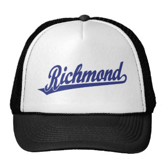 Riverside script logo in blue hat