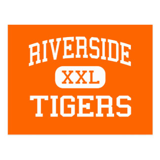 Riverside - Tigers - High - Milwaukee Wisconsin Postcard