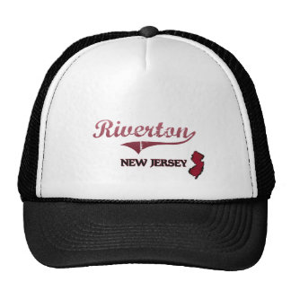 Riverton New Jersey City Classic Mesh Hats