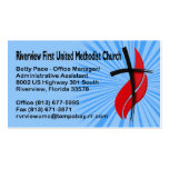 Riverview First UMC Office Manager Business Card Templates
