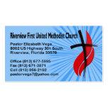 Riverview First UMC Pastor Business Card Templates