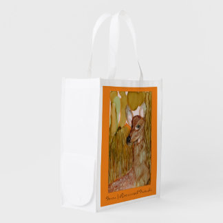 Riverwood Friends Fawn Reusable Grocery Bag