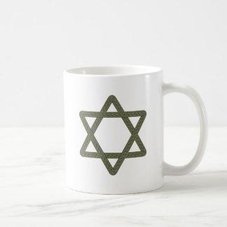 Rivet Star of David for Jewish Celebrations Coffee Mugs