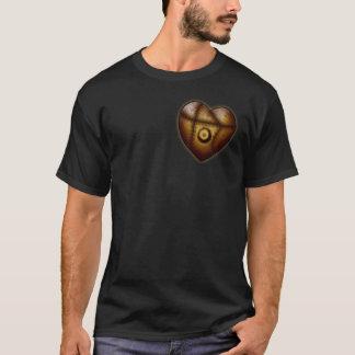 Riveted Heart, dark shirt