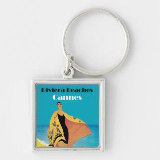 Riviera Beaches Cannes Keychain