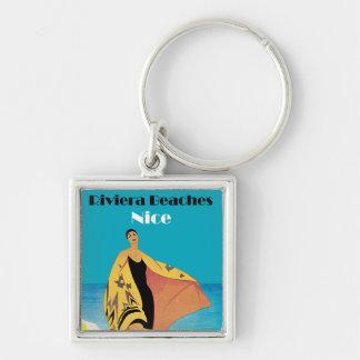 Riviera Beaches Nice Key Chain