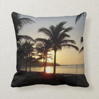 Riviera Maya Cancun Mexico Caribbean Sea Cushion
