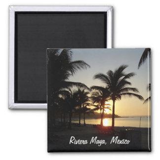 Riviera Maya Cancun Mexico Caribbean Sea Magnet Refrigerator Magnet