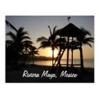 Riviera Maya Cancun Mexico Caribbean Sea Postcard