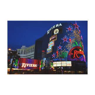 Riviera Stretched Canvas Print