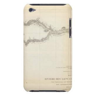Riviere des Lacs to Rocky Mountains iPod Case-Mate Case