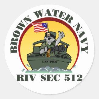 RivSec512 Round Sticker