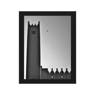 Riyadh Mosque Canvas Print