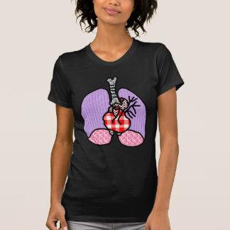 Riyah-Li Designs Heart Lungs Tee Shirt