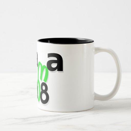 Riyah-Li Designs Obama 2008 Coffee Mug
