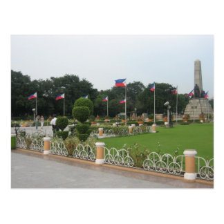 Rizal Park Postcard