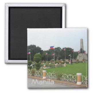 Rizal Park Square Magnet