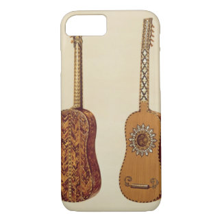 Rizzio Guitar, from 'Musical Instruments' (coloure iPhone 8/7 Case